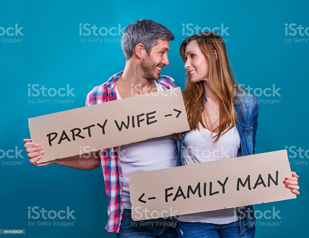 two people two way planning life stock photo