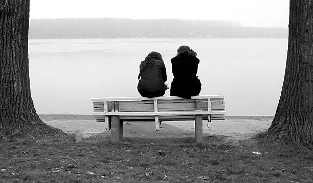 Zwei Personen – Foto