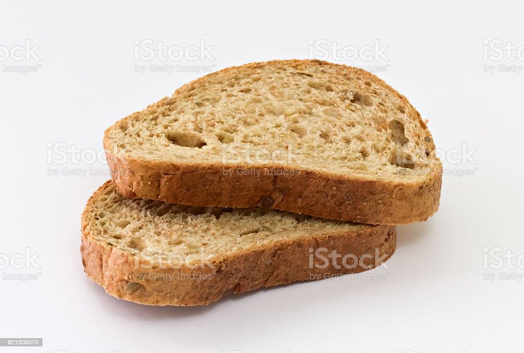 Two pieces of bread Lizenzfreies stock-foto