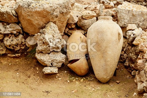 istock Two Pieces of Pottery 1215611434