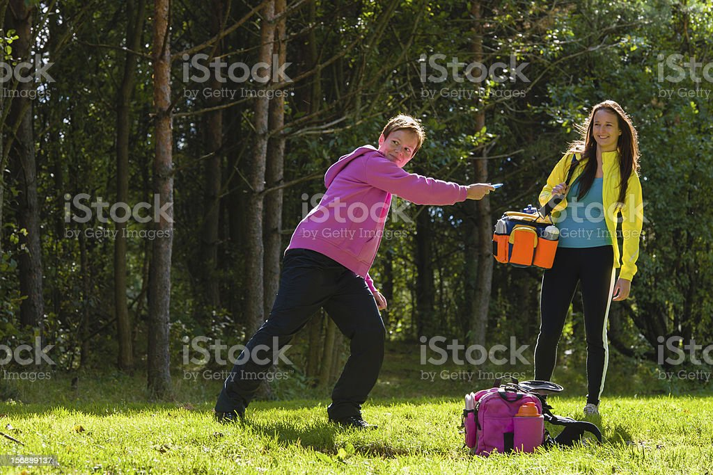 Two players royalty-free stock photo