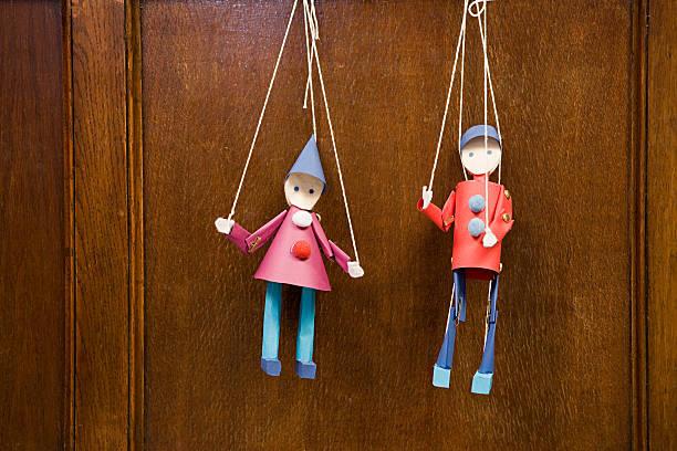 Deux des marionnettes - Photo