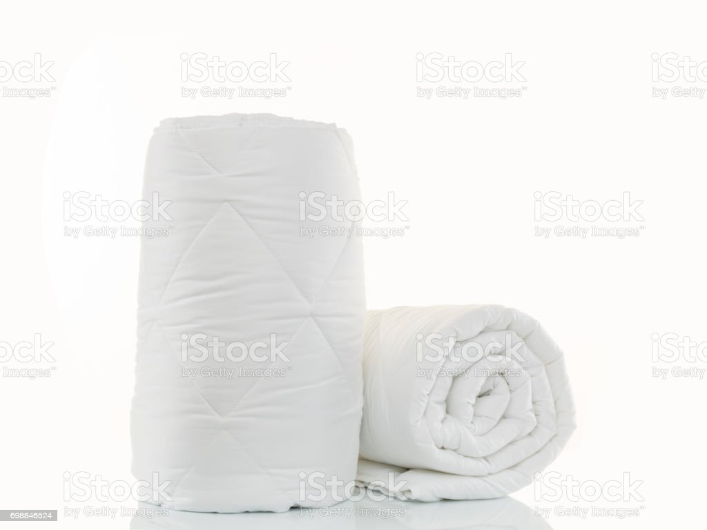 Two Quilt stock photo