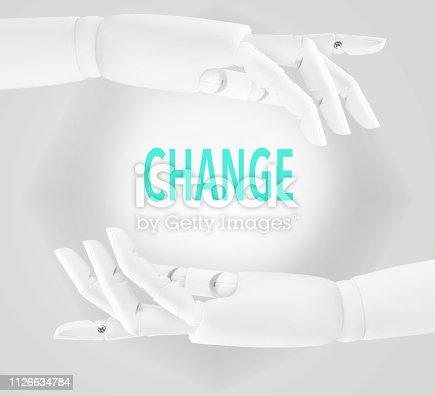 Ai, technology, robot, efficiency, change concept