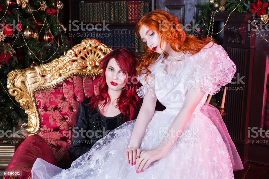 Check out these amazing dresses made from left over christmas