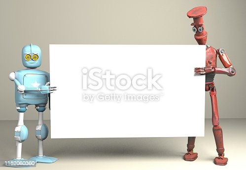 istock two robots vitage peeks out from behind the walls banner 1152060360