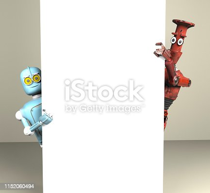 istock two robots vitage peeks out from behind the walls banner 1152060494