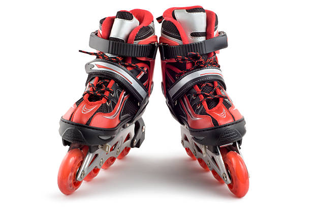 Two rollerscates stock photo