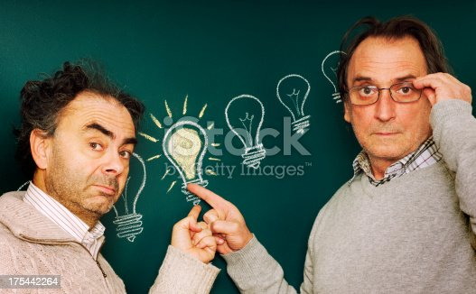 istock Two Scientists and a Big Idea 175442264