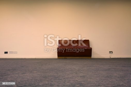Seat in an old theatre
