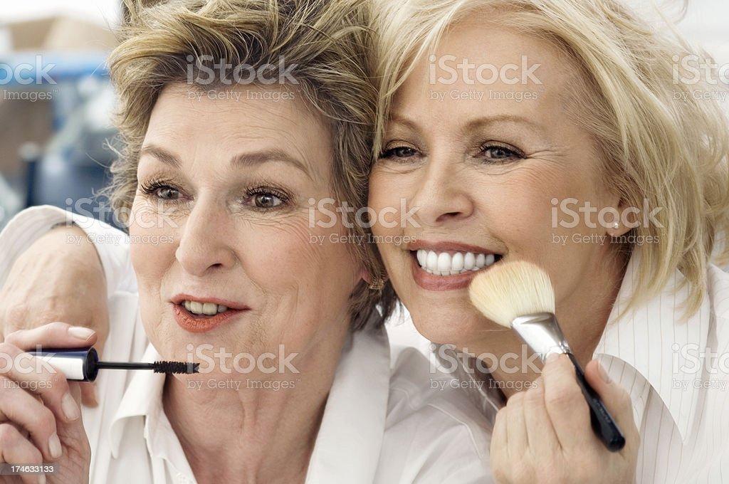 Zwei Senior Damen – Foto