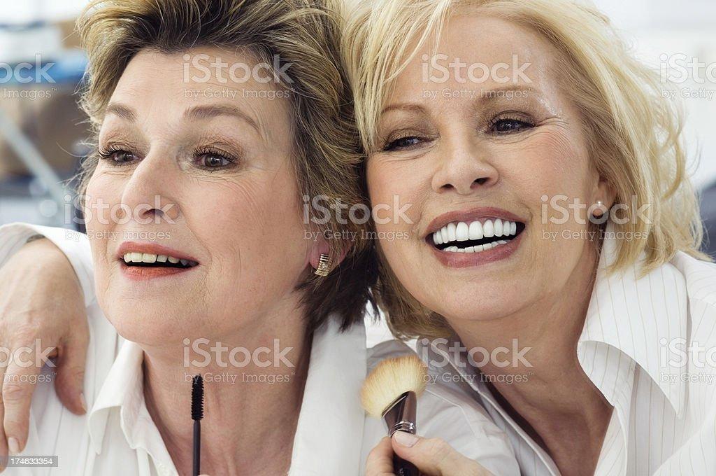 Zwei Senioren – Foto