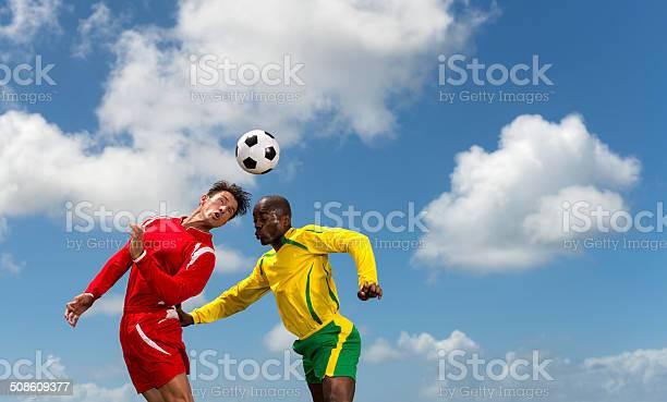 Two soccer players in action picture id508609377?b=1&k=6&m=508609377&s=612x612&h=cvlzdnhi5ieks9ins2eu19a6ai3yr0kls9l6qiggulk=