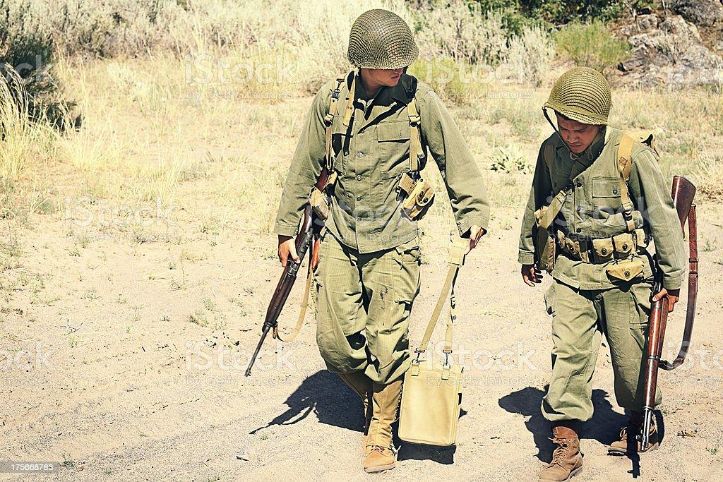 Zwei Soldaten – Foto