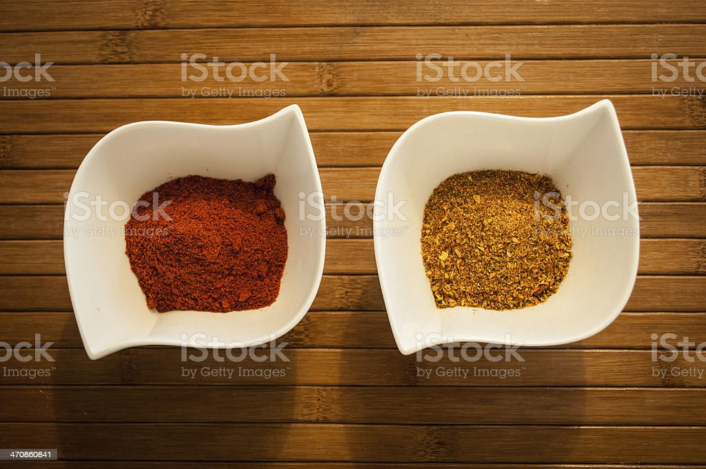 Two spices stock photo