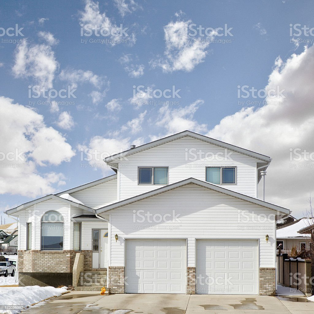 Two Story Single Family Home stock photo