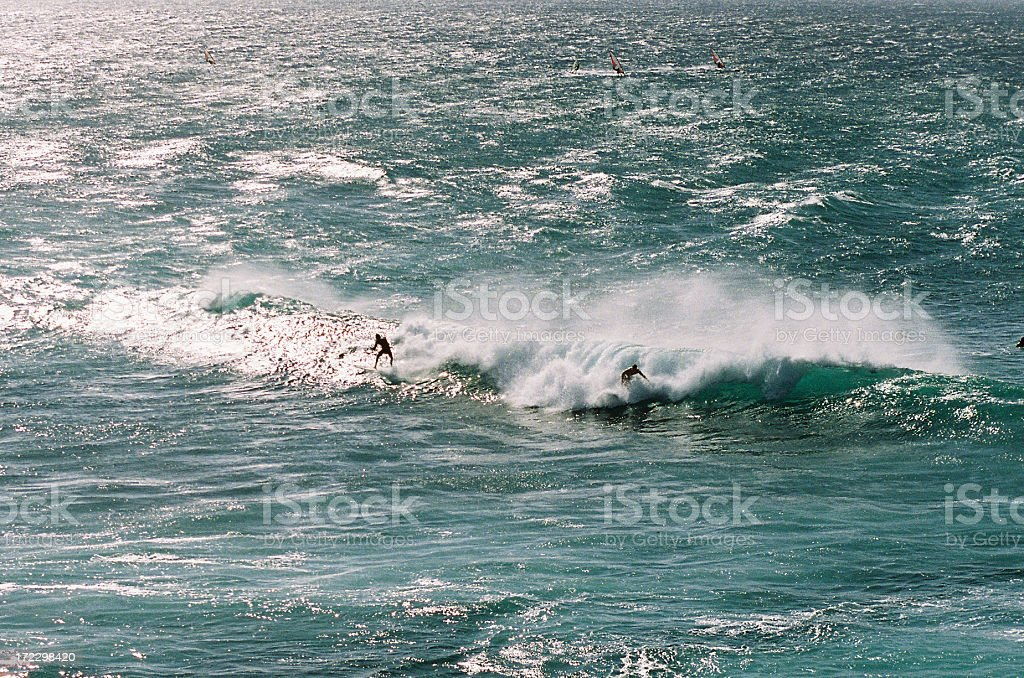 Two Surfers