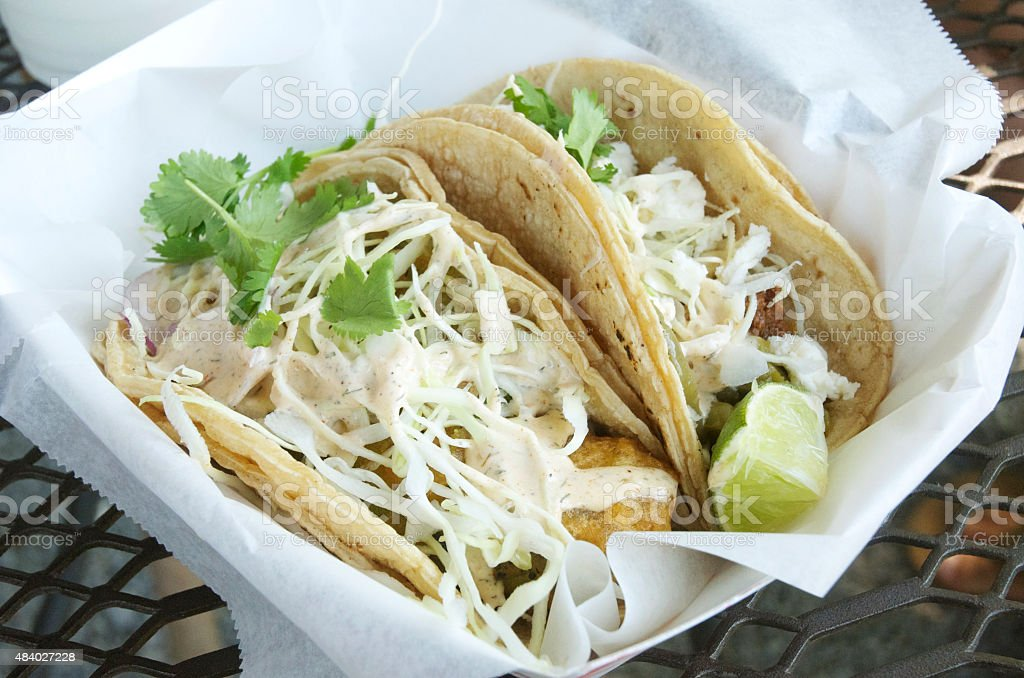 Two Tacos stock photo