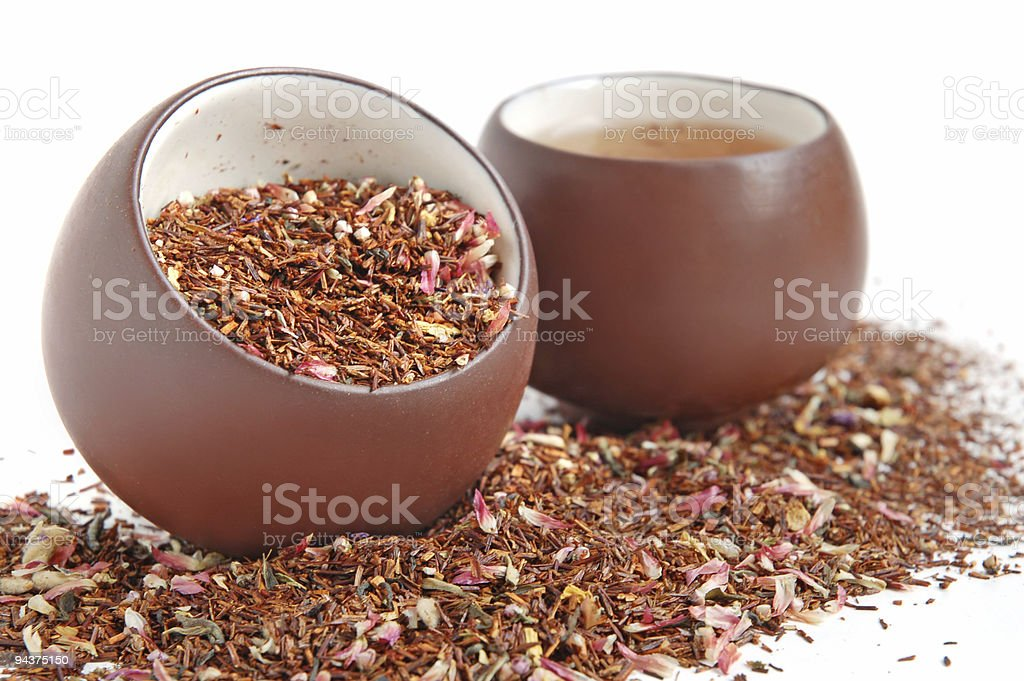 Two tea cups royalty-free stock photo
