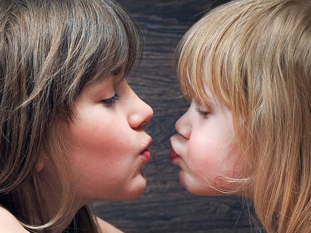 Twin Lesbian Kissing 71