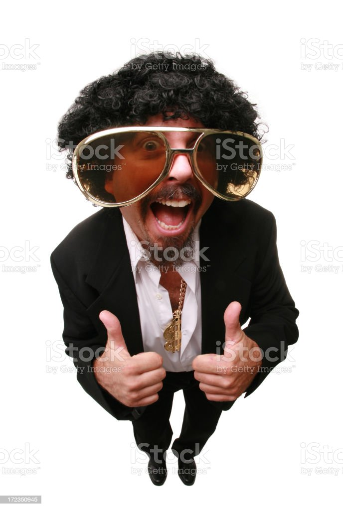Two Thumbs Up royalty-free stock photo