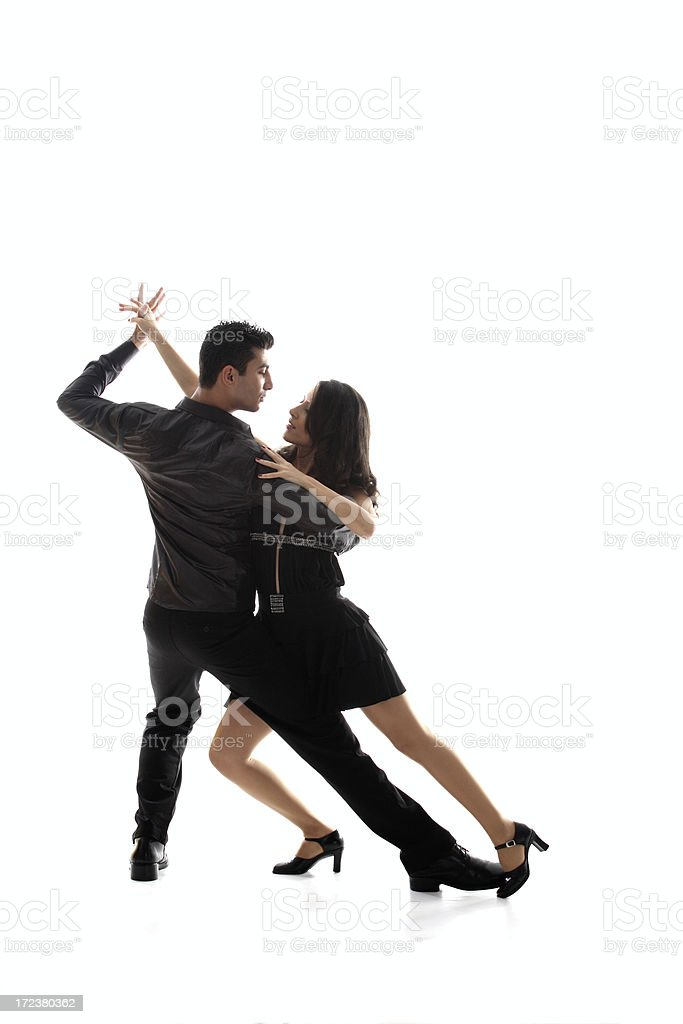 Two To tango royalty-free stock photo