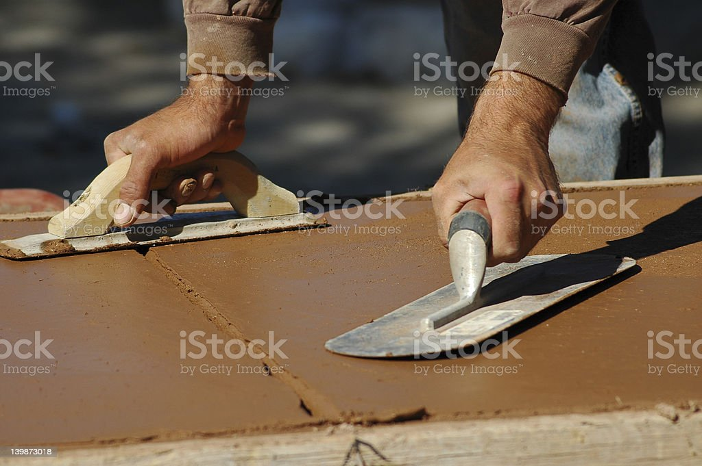 Two Trowels royalty-free stock photo