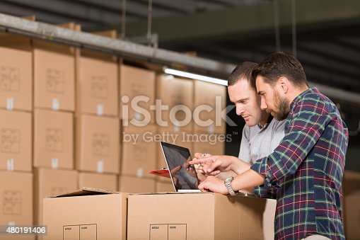 istock Two Warehouse Worker 480191406
