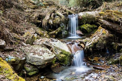 1131408581 istock photo Two waterfalls 1262860561