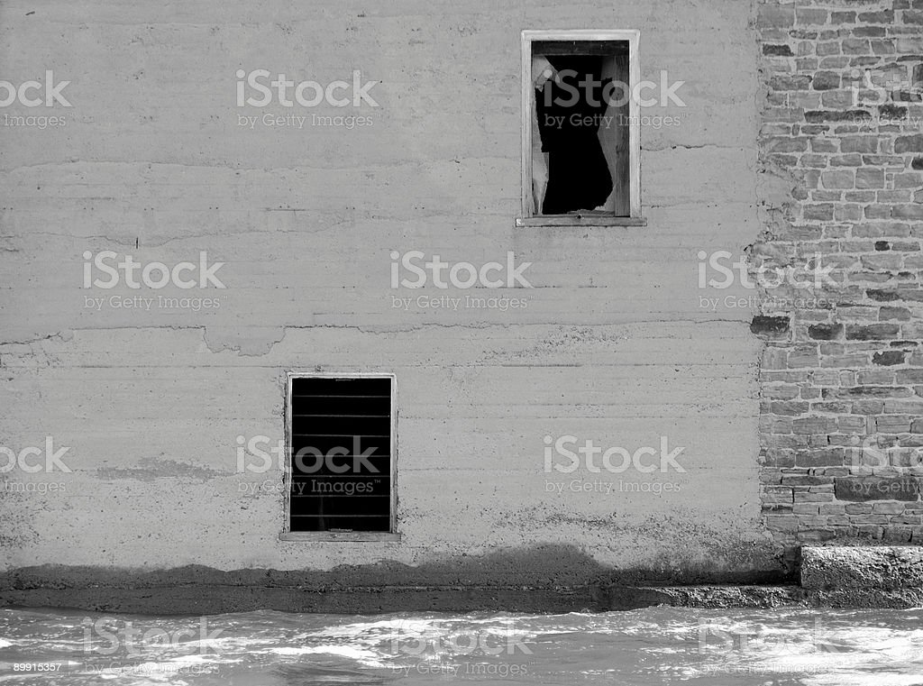 Two Windows Background royalty-free stock photo