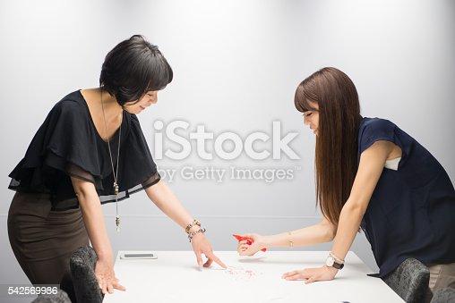 589445574 istock photo Two women brainstorming 542569986