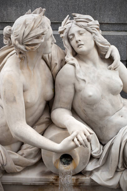 two women embracing - ancient stock photos and pictures