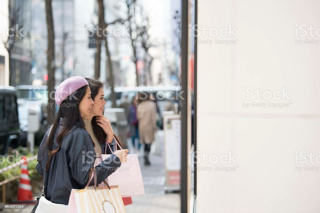 Two women in the car - Royalty-free 20-29 Years Stock Photo