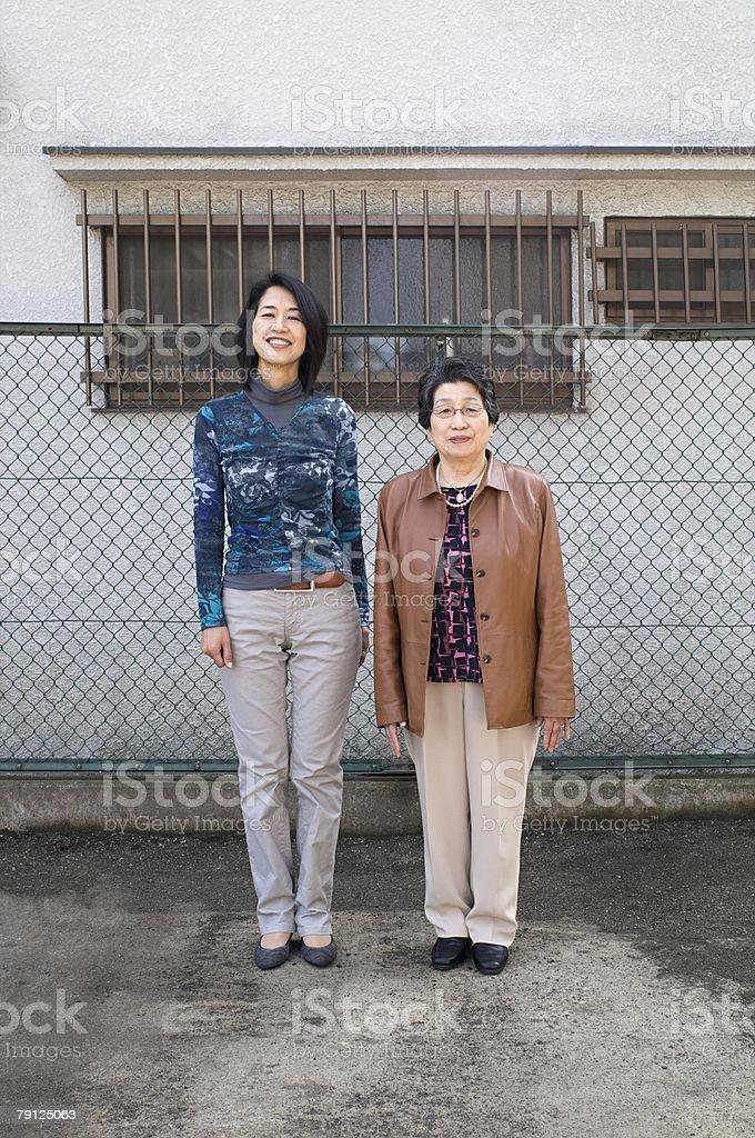 Two women 免版稅 stock photo