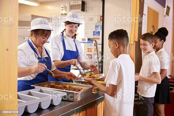 Two women serving food to a boy in a school cafeteria picture id538487028?b=1&k=6&m=538487028&s=612x612&h=mobaenovnqqbm6ezbetoqtvf5k2vdt8zpylmqwtwgcg=