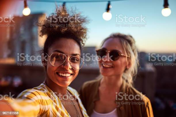 Two women taking selfie at the party picture id962161558?b=1&k=6&m=962161558&s=612x612&h=u0y5dl2fgr9fels86xifhuk0s8whk4vdubloe k80nm=
