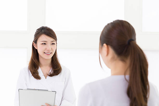Asian nurse stock image. Image of drug, injecting, doctor