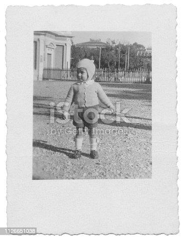Two years old baby in 1949