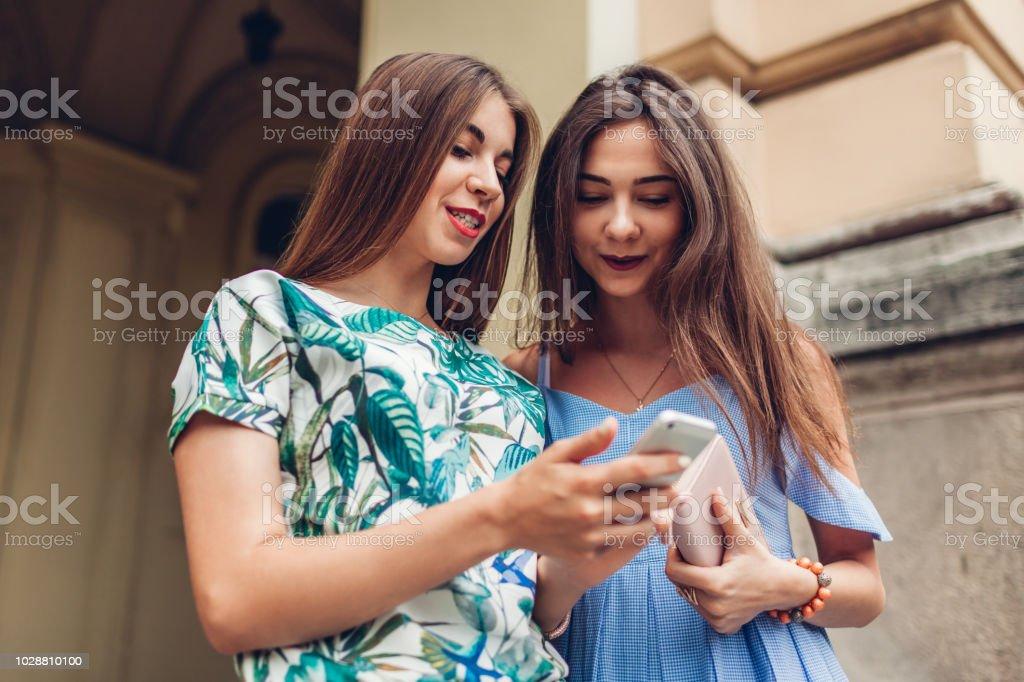 Social network girls