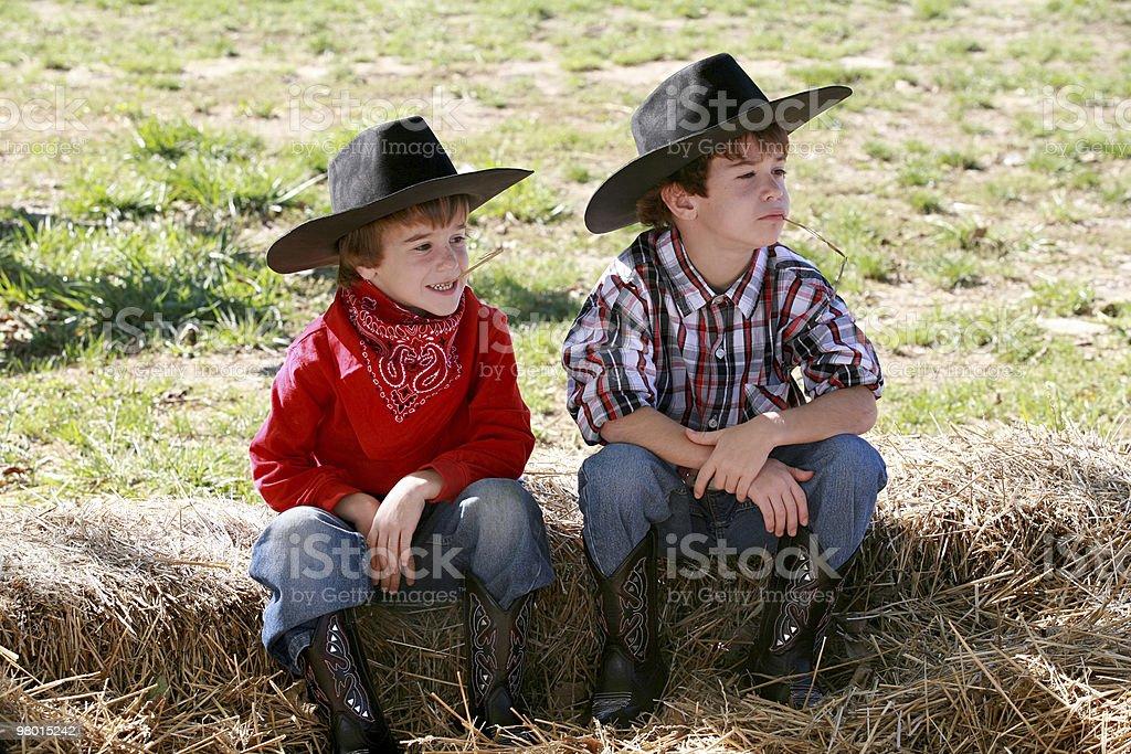 Cowboys foto stock royalty-free