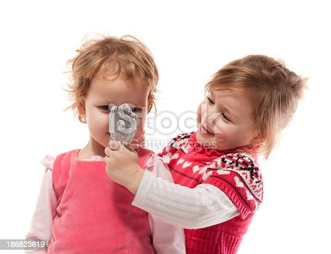istock Two young ladies 186823619