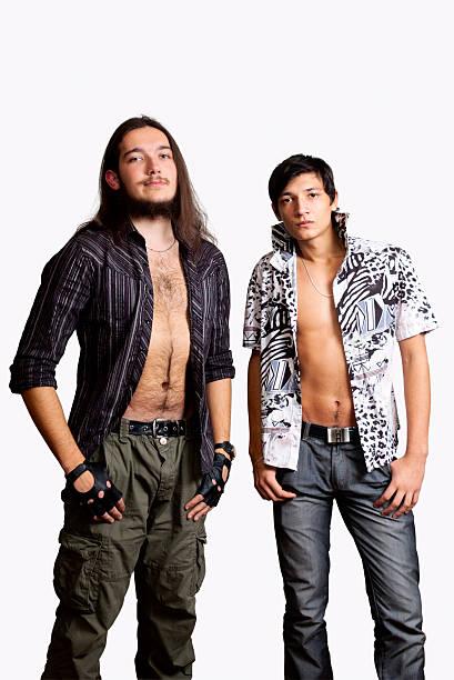 Zwei junge Männer. – Foto