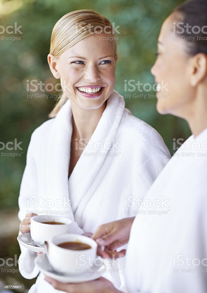 Girls day was an awesome idea stock photo