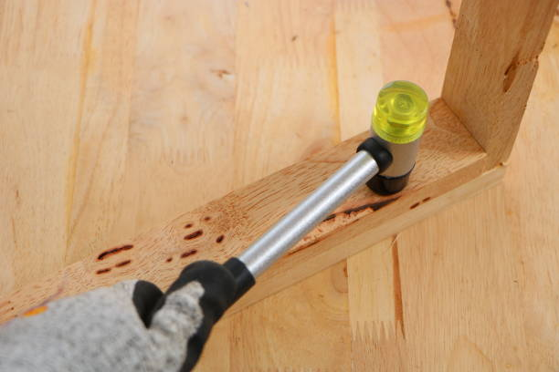 Two-ended Hammer Mallet stock photo