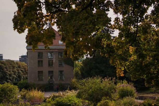 Tøyen Botanical Garden stock photo