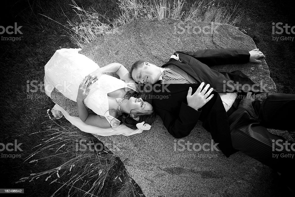 Tying the Knot royalty-free stock photo