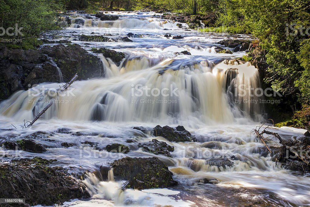 Tyler Fork Cascades royalty-free stock photo