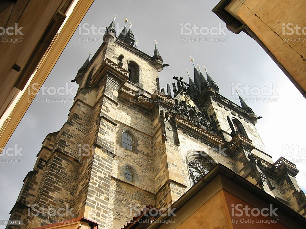 Tyn church in Prague​​​ foto