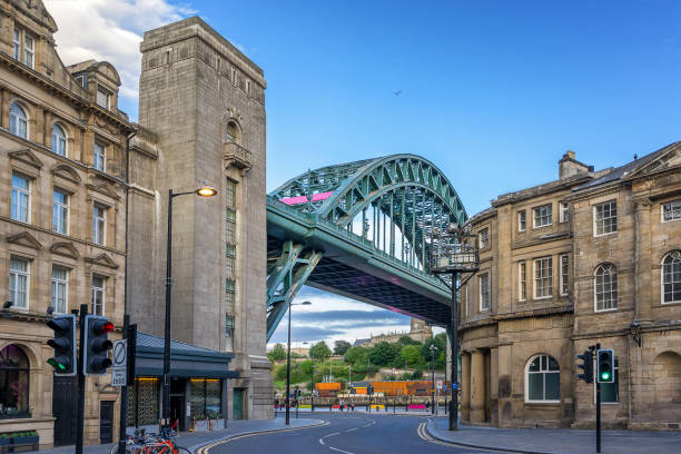 tyne bridge - gateshead stock photos and pictures