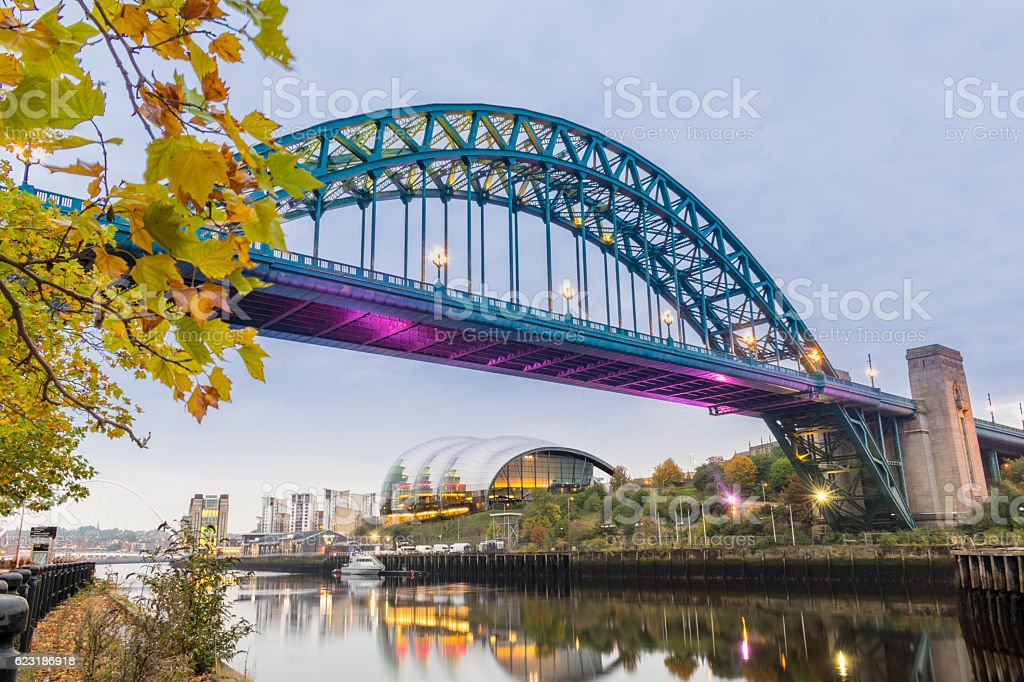 Tyne Bridge stock photo